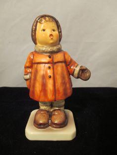 Hummel Figurine Goebel  Winter Song by MyRedFlamingo on Etsy, $24.00