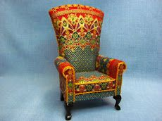 1 inch scale Florintine Chair