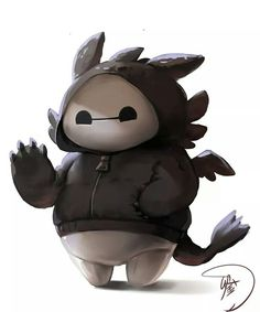 BAYMAX X TOOTHLESS
