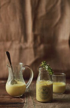 Turmeric Milk--an Indian Home Remedy from Journey Kitchen.