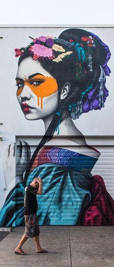 Street art by FIN DAC: