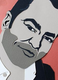 All Things Paper: Kevin Stanton - Paper-Cut Artist