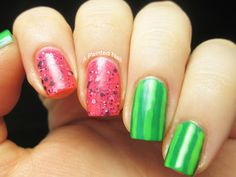 Watermelon Nails: Nail Of The Day
