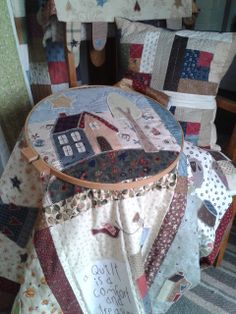 I adore handquilting my Quilts.  Tiki Brophy;  My Quilt Room