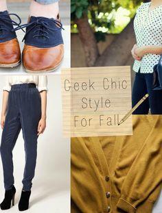 Geek Chic Essentials, Fall 2013.