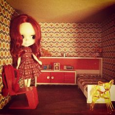 .@juther84 | Bedroom! #blythe #blytheaday #blythedoll #doll #dolls #dollhouse #dollsfurnit... | Webstagram - the best Instagram viewer
