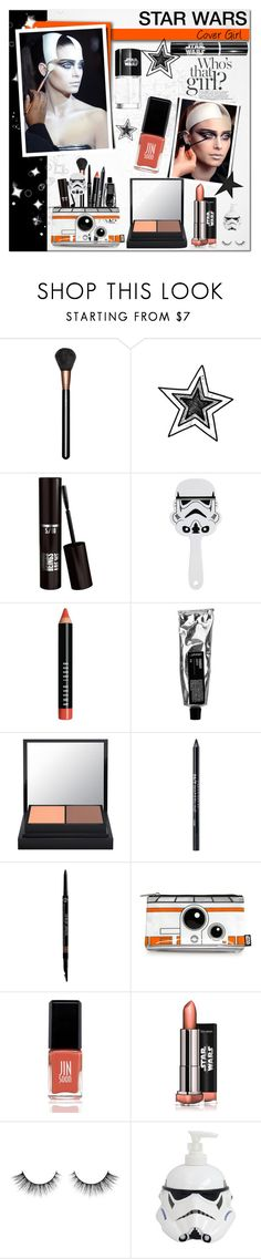 """""""STAR WARS : Cover Girl"""" by alves-nogueira ❤ liked on Polyvore featuring beauty, MAC Cosmetics, Bobbi Brown Cosmetics, Urban Decay, Armani Beauty and JINsoon"""