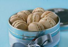 Salted caramel macarons...