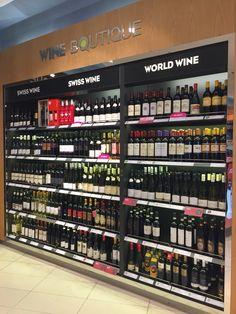 Wine Display, Display Shelves, Wine Rack Design, Supermarket Design, Liquor Store, Rack Shelf, Shelf Design, Bar Counter, Tasting Room