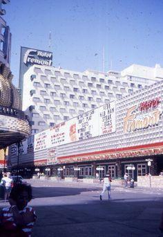 Fremont Hotel, Las Vegas, c. 1987. Fremont at 3rd, via Mr. English