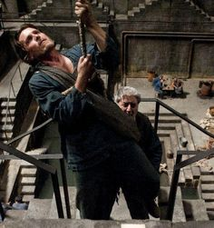 Bruce Wayne trying to climb out of the pit in The Dark Knight Rises! Batman The Dark Knight, The Dark Knight Trilogy, The Dark Knight Rises, Gal Gadot Instagram, Film Trilogies, Batman Begins, Dc Comics Characters, Gary Oldman, Knights