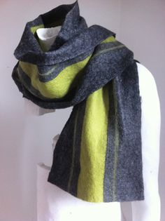 READY TO SHIP Men's Merino Wool Scarf Racing by ChambreRouge