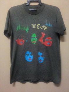 Check out this item in my Etsy shop https://www.etsy.com/listing/492417242/vintage-the-cure-shirt-80s-medium-size