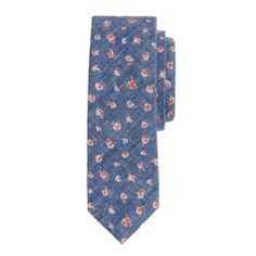 J.Crew Chambray floral tie | mens tie | menswear | mens fashion | mens style | wantering http://www.wantering.com/mens-clothing-item/chambray-floral-tiebulletpointbulletpoint/auAXGM8o/