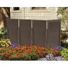 4 Panel Outdoor Screen