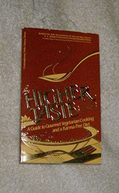 The Higher Taste a Guide to Gourmet Vegetarian Cooking and a Karmafree Diet Over 60 Famous Hare Krishna Recipes >>> Find out more about the great product at the image link.