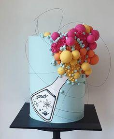 Graduation Cake Designs, Graduation Party Foods, Graduation Cake Toppers, Graduation Gifts For Him, College Graduation, Chemistry Cake, Cakes For Men, Men Cake, 18th Birthday Cake