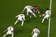 Pepe, Xabi Alonso, Marcelo, Arbeloa, Messi