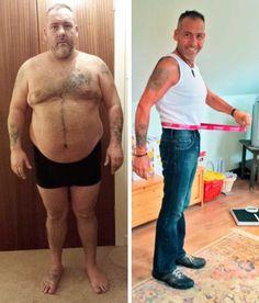 Wie ich 40% abnahm: eine Geschichte eines Mannes, der 56kg verlor