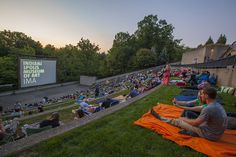 Summer Nights Film Series at the Indianapolis Museum of Art I really want to go to that this year!