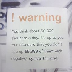 Are you thinking positive enough?  #everyday #quote #motivation #inspirational #life #success #mrblueprint
