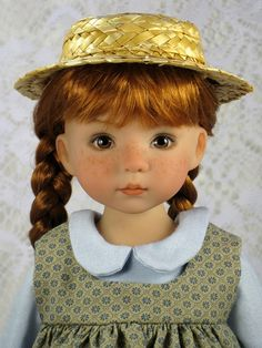 Looks like Anne of Green Gables, I think Diana Effner
