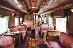 A romantic, old-world train journey through southeast Asia.
