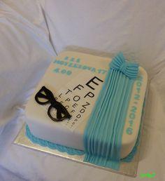 cake for prom feast for opticians - torta na stužkovú pre očných optikov