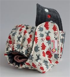 Goodmama Designer Diaper... cute diapers! Expensive though!