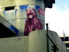 Berlin, Steglitz- Bier Pinsel Berlin Graffiti, Street Art, Brushes, Beer