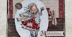 Hi everyone! Elin here today with another Christmas card done. This one is actually made entirely from scraps. I love it when my pile of sc...