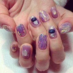 48 Ideas For Hair Short Purple Nail Art Designs Purple Nail Art, Purple Nail Polish, Red Nails, Garra, Spring Nail Colors, Spring Nails, Classy Nails, Cute Nails, Uñas Jamberry