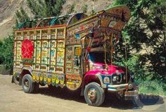 Art on wheels - literally everywhere you go in the major cities you see these personalized, decorated trucks Beautiful World, Beautiful Images, Truck Art Pakistan, Kim Adams, Karakoram Highway, Gypsy Home Decor, Modern Skyscrapers, Everywhere You Go, Indigenous Art