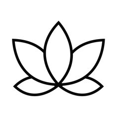 See this and of other temporary tattoo designs. Then test-drive your custom tattoo before committing forever with Momentary Ink featuring Real Teal™. Lotus Flower Art, Lotus Flower Design, Lotus Art, Lotus Outline, Flower Outline, Lotus Drawing, Yoga Drawing, Custom Temporary Tattoos, Custom Tattoo