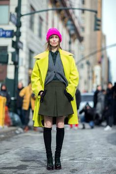Street Style at NYFW: http://www.graziadaily.co.uk/fashion/stylehunter/street-style-looks-at-new-york-fashion-week-autumn-winter-2014