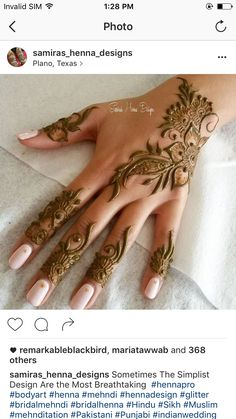 Indian Henna, Arabic Henna, Henna Mehndi, Henna Art, Easy Henna, Simple Henna, Menhdi Design, Mehndi Images, Fingers Design