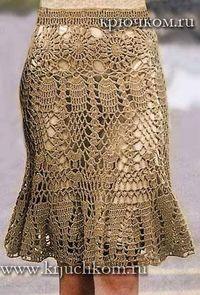 Saias em Crochê Modelos Variados com Gráfico - Katia Ribeiro Moda e Decoração Handmade