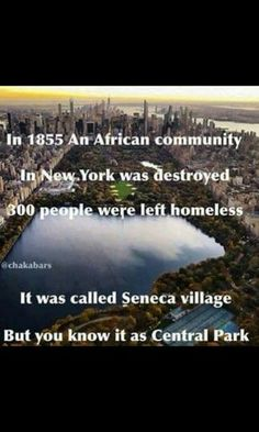 And this was practiced all across the US.  Whole prospering, self sufficient, and mostly black neighborhoods were destroyed in this way.
