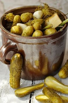 przepisy Home Decor country home decor Chutney, Tasty, Yummy Food, Cooking Recipes, Healthy Recipes, Polish Recipes, Polish Food, Fermented Foods, Food Storage