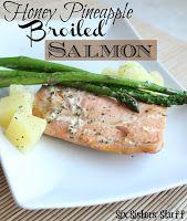 Asian Glazed Salmon Recipe - Six Sisters Stuff