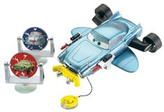 Cars Finn Bath Blasting Vehicle Playset by Mattel. $14.76. Features water guns and real working propellers activated by a pull string that is also a grappling hook. Kids can recreate their favorite spy scenes from the movie. Take your spy adventure into the bath with the Submarine Finn McMissile. Inspired by characters and scenes from the hit Disney/Pixar film, Cars 2. Includes floating Finn McMissile submarine and 2 spinning Minion targets. From the Manufacturer             ...