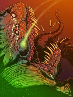 Ongoing Illustrations 2014 (updated on April by Brock Hofer, via Behance Character Concept, Character Design, Dan Mumford, Hyper Beast, Monster Concept Art, Ben Tennyson, Acid Art, Collor, Black Table
