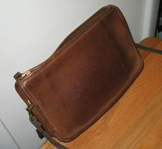 """A few weeks ago, I found a """"Made in New York City"""" vintage bag in an antique mall, on sale for $20. It seemed about as authentic as I could tell, so I bought it and had it authenticated in our authentication thread (DemRam approved it, and ID'd it as the """"basic bag""""). I went through the standard ritual -- a good bath/soak; soapy water, rinse water, then Apple conditioned it three times over the next week. (I'll start attaching befo"""