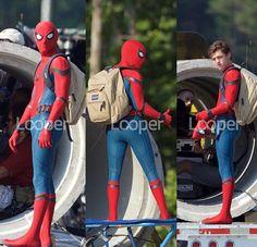Spiderman Homecoming set photos