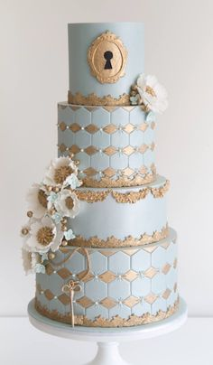 Featured Cake:COCO Cakes Australia;www.cococakes.com.au; Wedding cake idea.