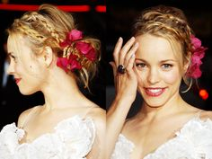 rachel mcadams. REGINA GEORGE!!! i love her hair i love her smile