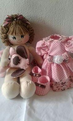 imagenes de muñecas de tela paso a paso Bjd Doll, Doll Toys, Baby Dolls, Doll Clothes Patterns, Doll Patterns, Fabric Dolls, Paper Dolls, Homemade Dolls, Colorful Candy