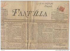 """Roma 1895 - Giornale """"Fanfulla"""""""