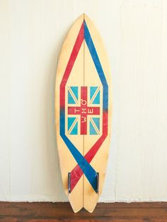 Vintage 'The Who' surfboard ....