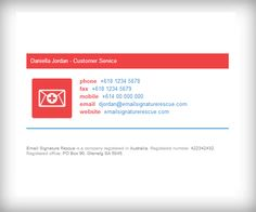 Professional Email Signature Design Make your own ... professional ...
